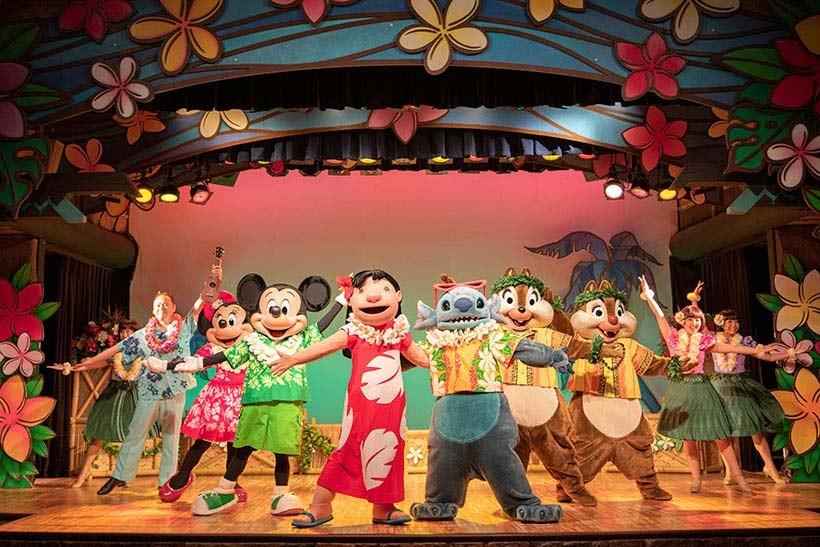 東京迪士尼樂園—莉蘿的歡樂夏威夷聚餐