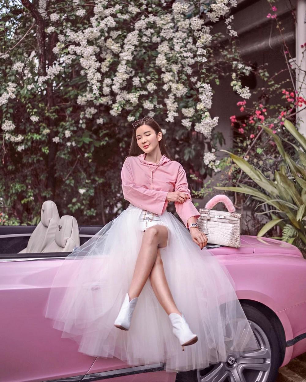 Jamie Chua蔡欣穎新加坡名媛全球最多Hermès手袋是她