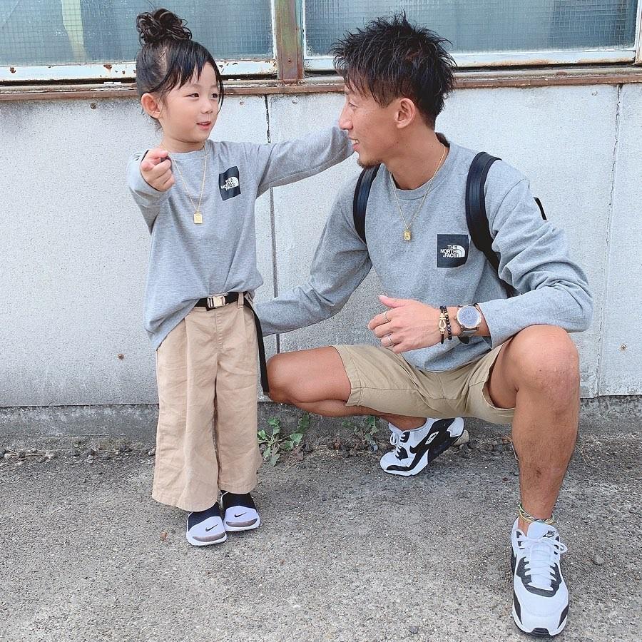 日本帥爸跟女兒「時尚穿搭IG」