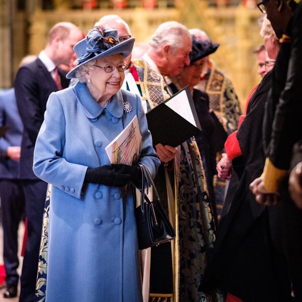 哈里王子與梅根宣佈退出英國皇室後出席「國協慶典」與英女皇同場!