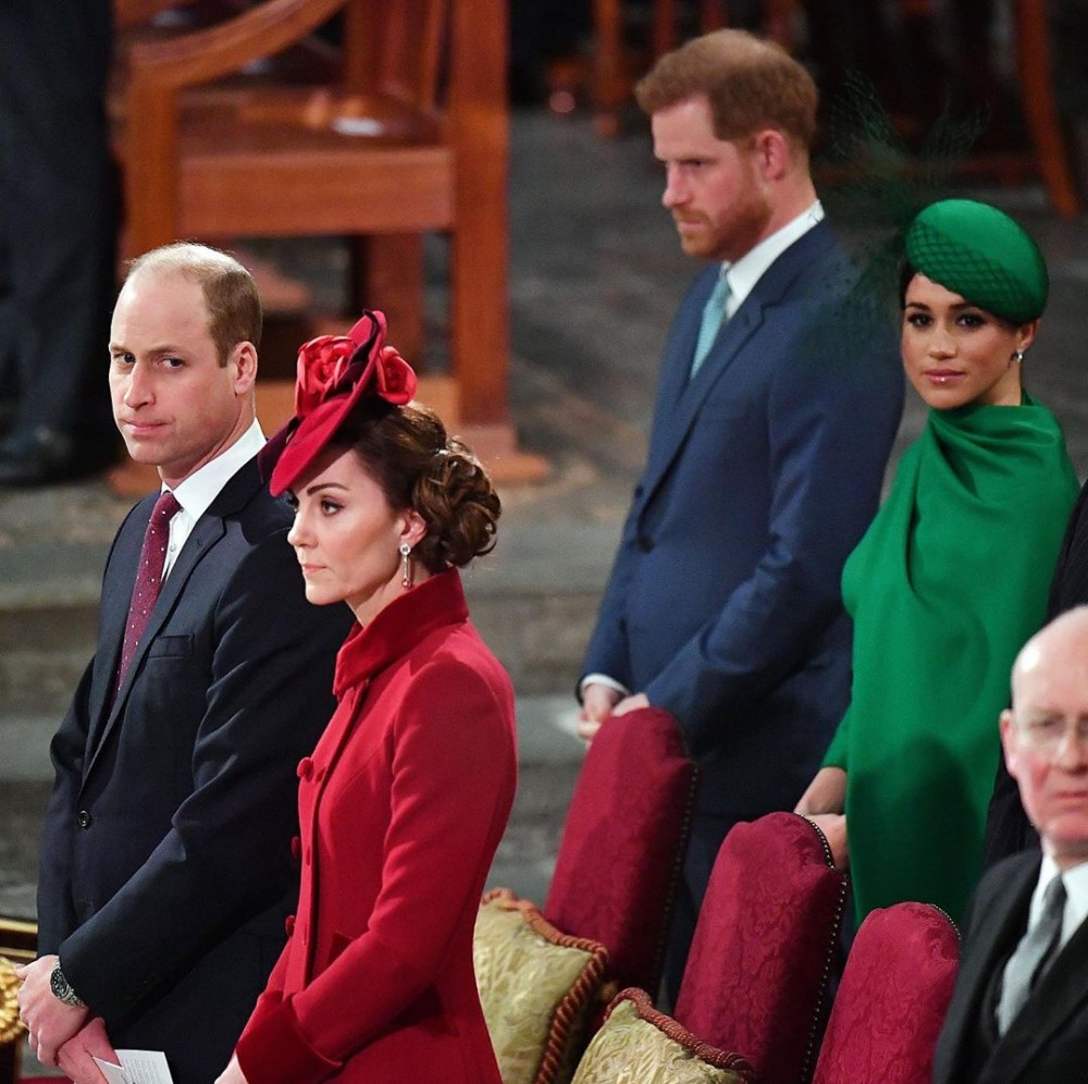 凱特王妃當無視梅根打招呼