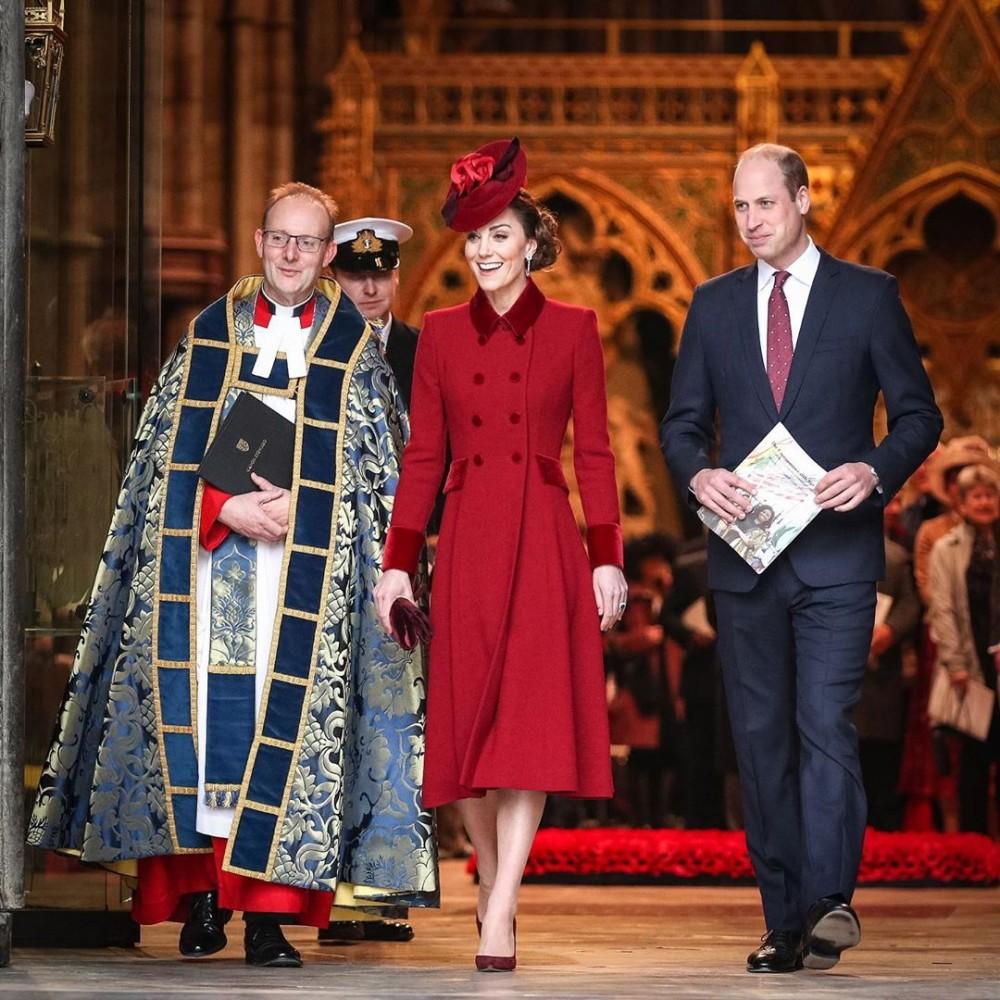 廉王子夫婦出席的「國協慶典」無視梅根