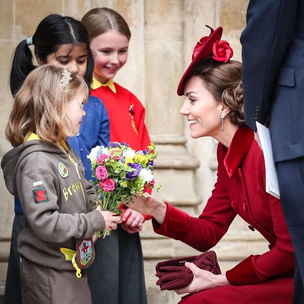 廉王子凱特王妃出席的「國協慶典」