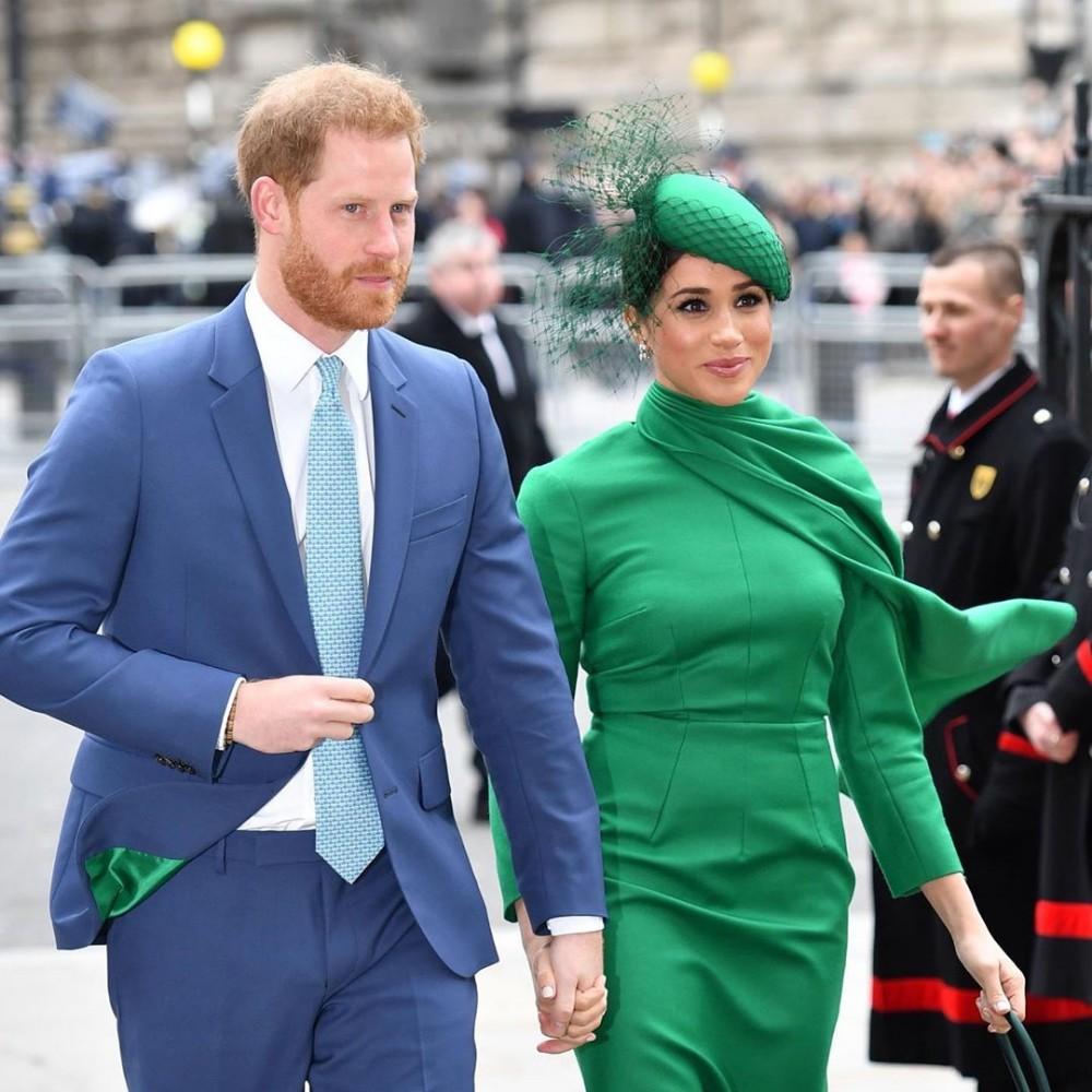 哈里王子與梅根宣佈退出英國皇室