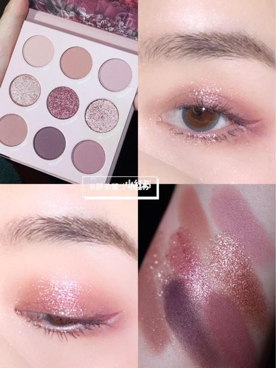 ColourPop making mauves 9色眼影盤鳶尾粉紫