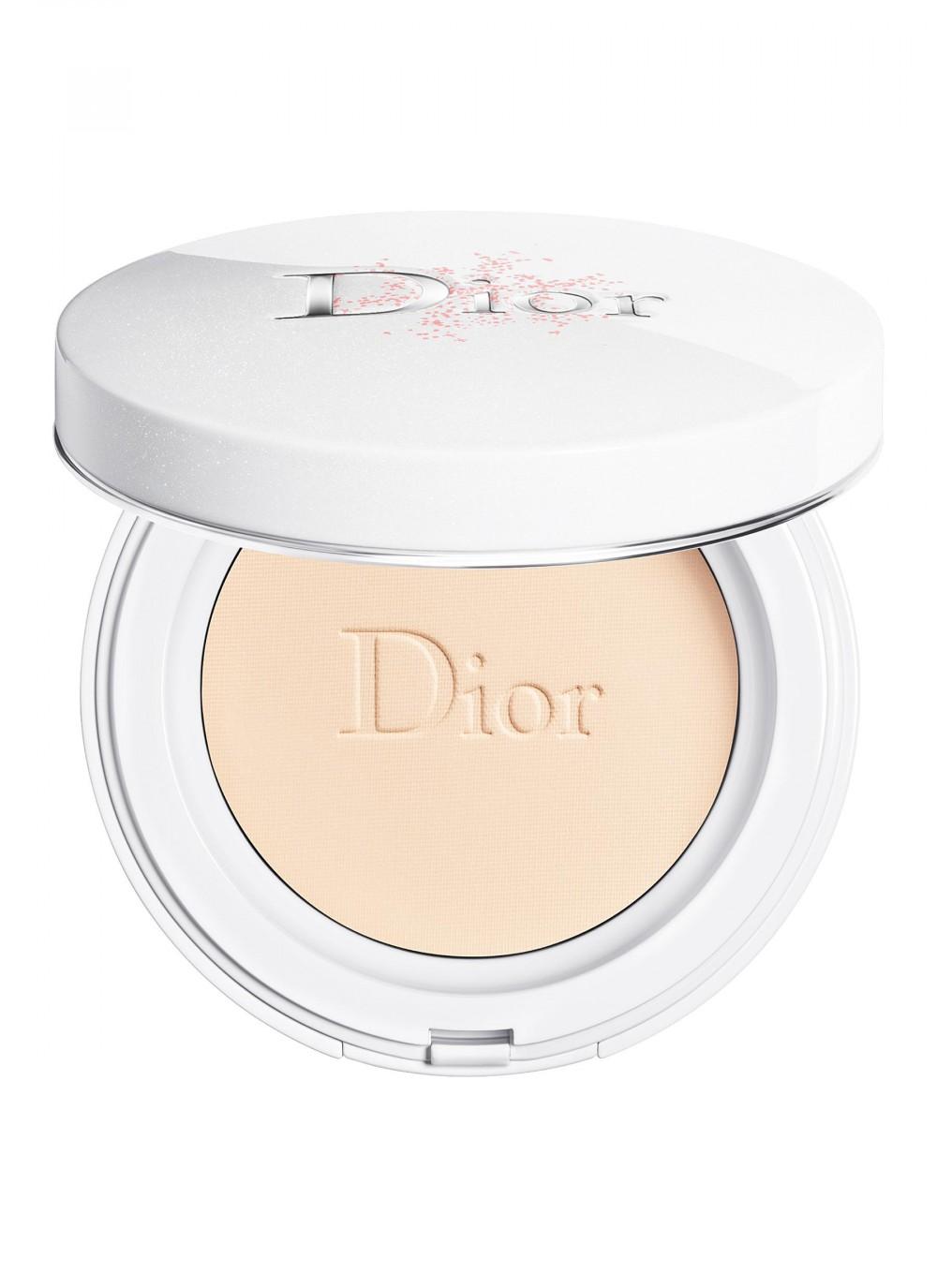 敏感肌化妝品推介_Dior 雪凝亮白炫光修護粉餅