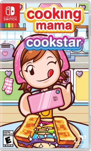 Switch版《Cooking Mama cookstar》價錢 玩法
