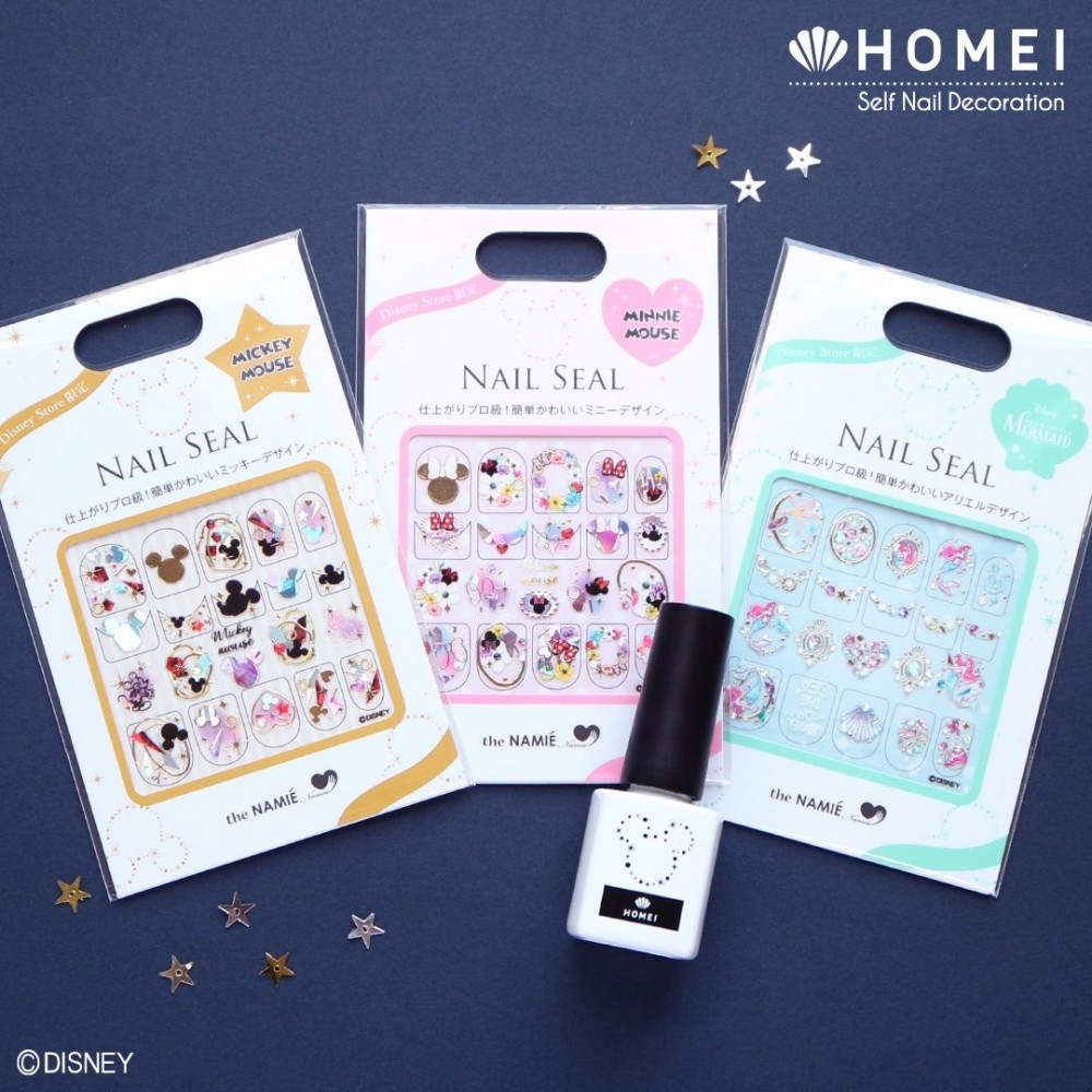 Disney x Homei 美甲貼紙