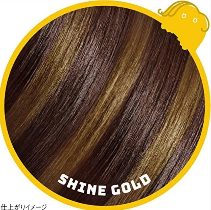 一日染髮筆1DAY Hair Monster 閃亮金色Shine gold