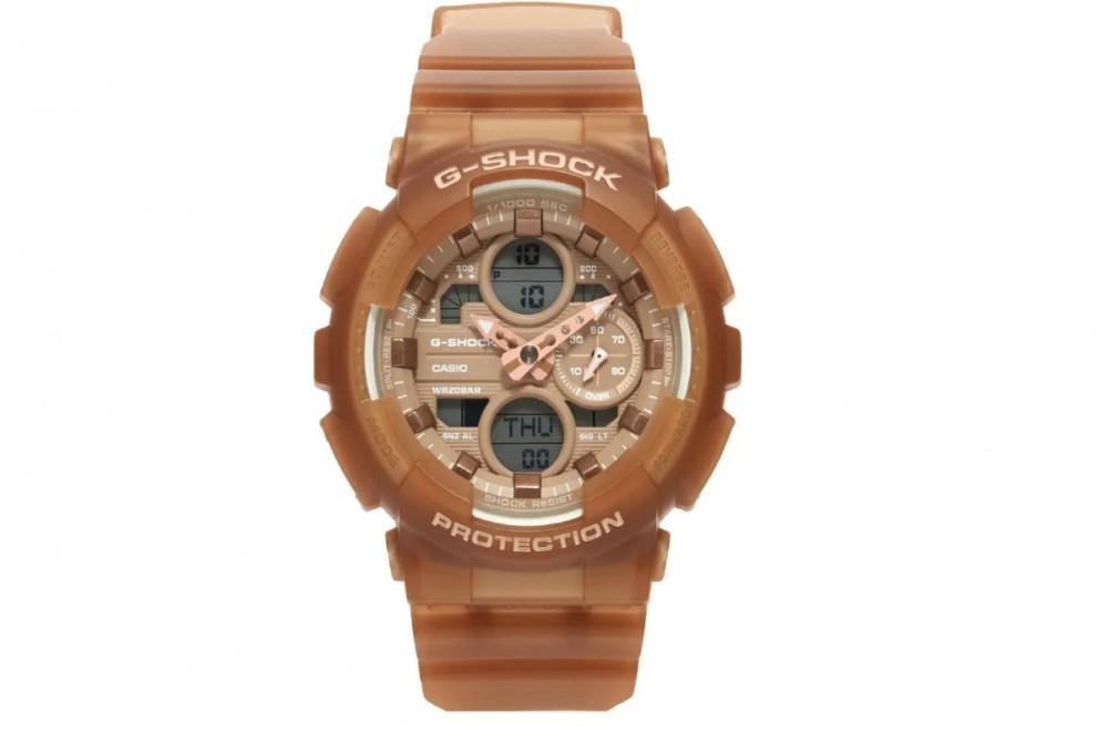 G-SHOCK 棕色手錶GMA-S140NC-5A2
