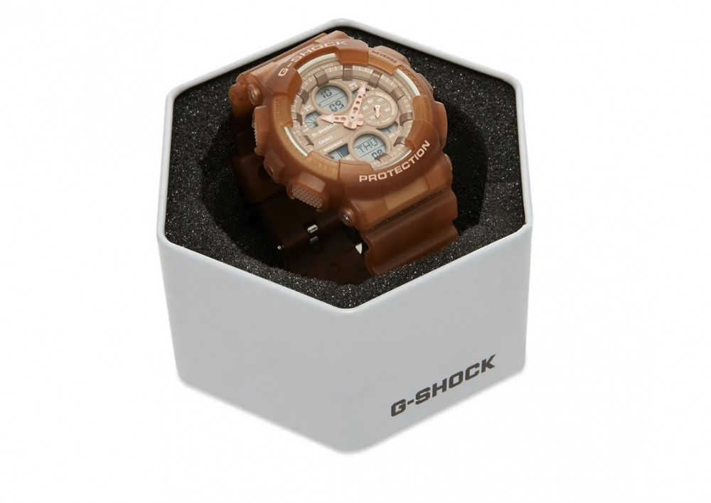 G-SHOCK 棕色手錶GMA-S140NC-5A2 brown