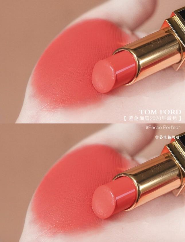 Tom Ford 唇膏Lip Color Satin Matte #Peche Perfect 05 蜜桃色