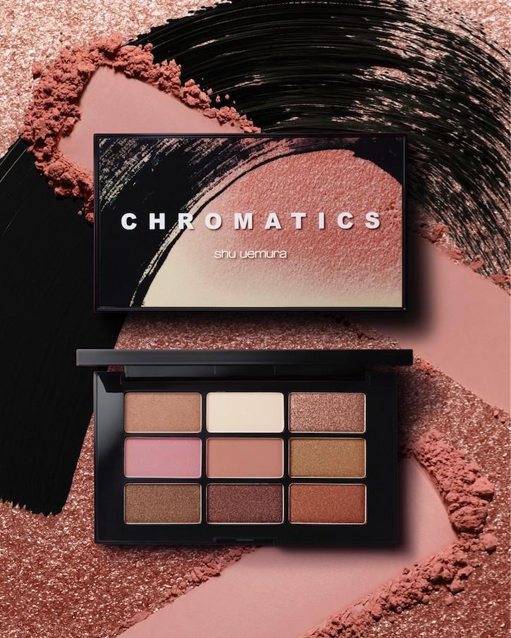 shu uemura chromatics eyeshadow palette 眼影組合 - Sakura nudes 價錢HK$550