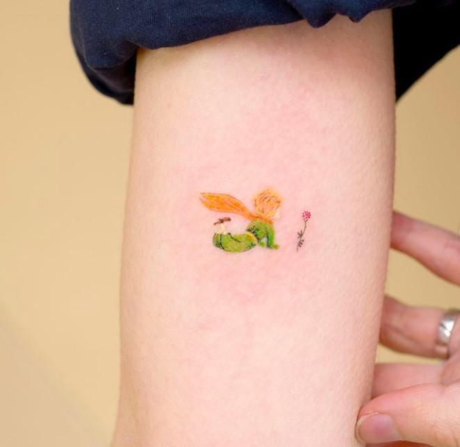 小王子紋身 IG@ovenlee.tattoo