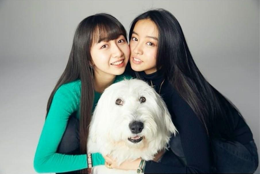 木村拓哉和工藤靜香的兩名愛女木村心美(Cocomi)和木村光希(Koki)