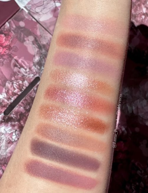 ColourPop making mauves 鳶尾粉紫眼影盤