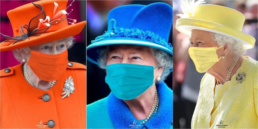 英女皇偏愛穿鮮艷顏色?