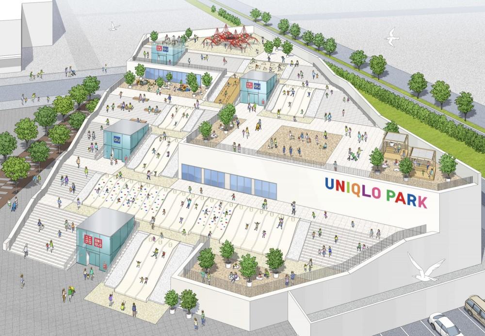 日本橫濱UNIQLO PARK公園4月10日開幕 集遊樂設施和購物一身的超大型綜合公園