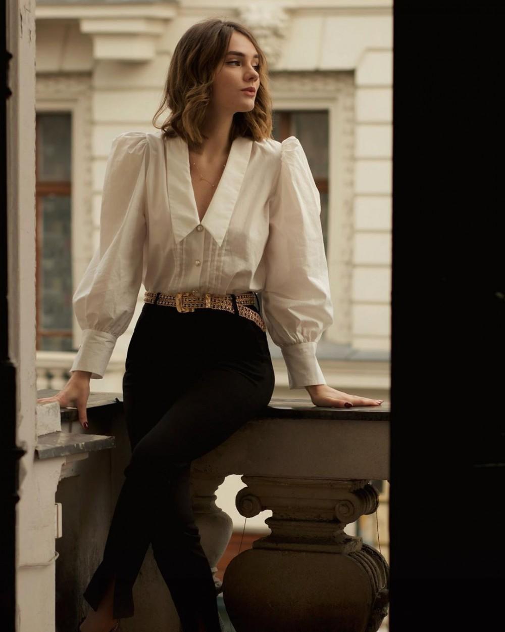 法式優雅穿搭時尚KOL Constance (IG @_constance_d