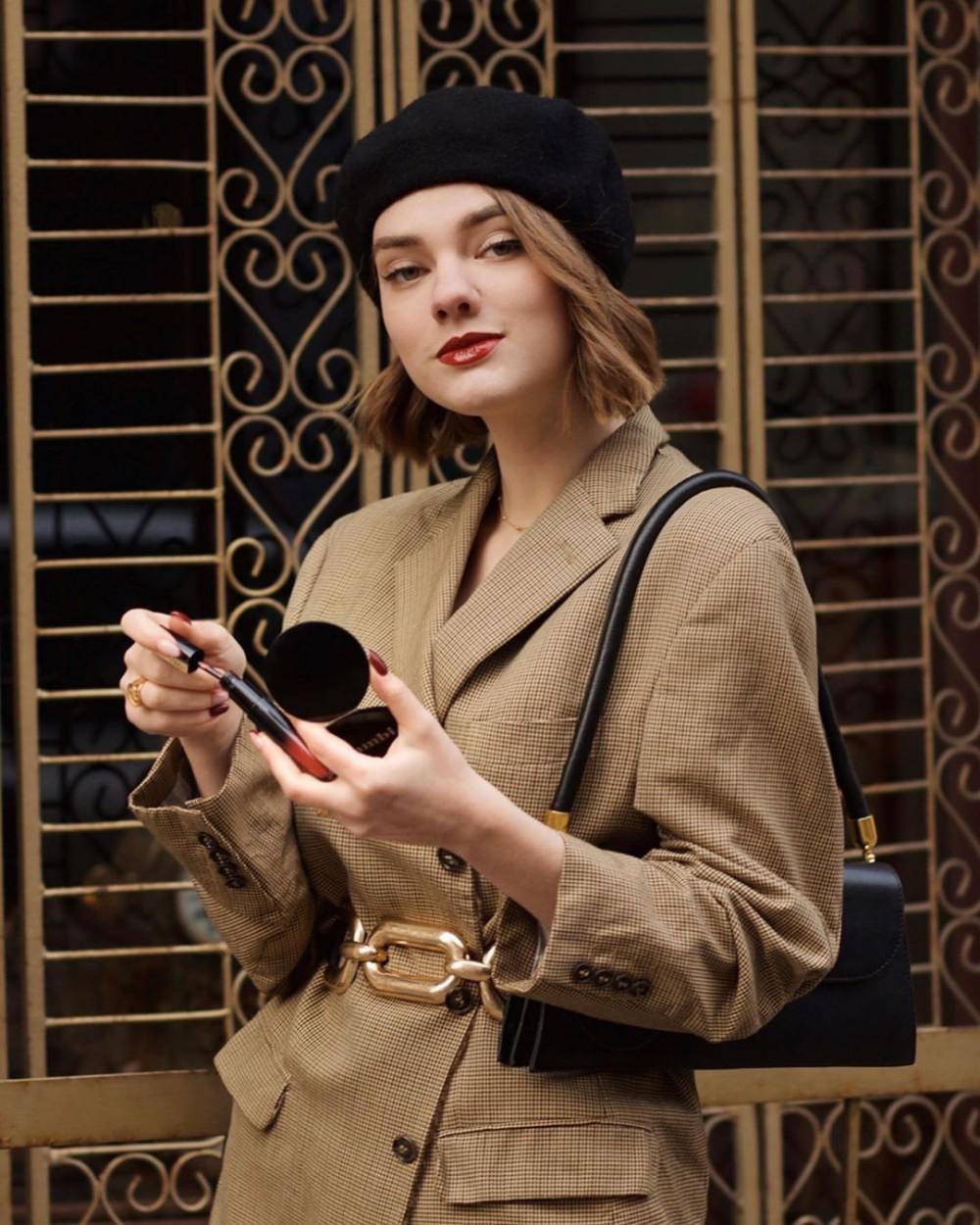 外國時尚KOL Constance (IG @_constance_d) 增高顯瘦穿搭