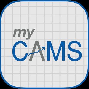 myCAMS logo