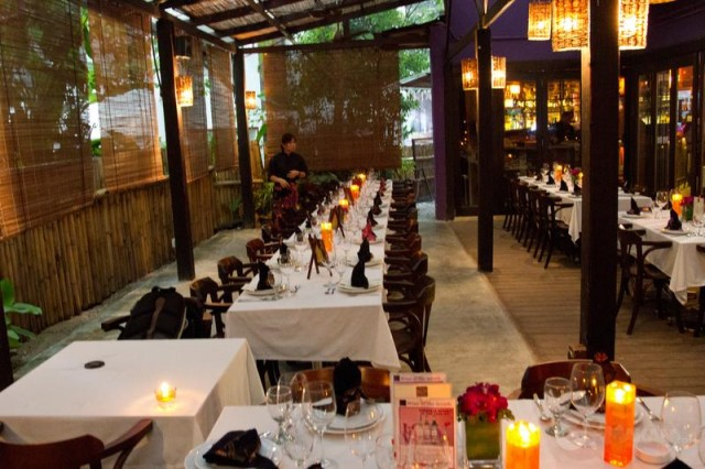 Cilantro restaurant wedding