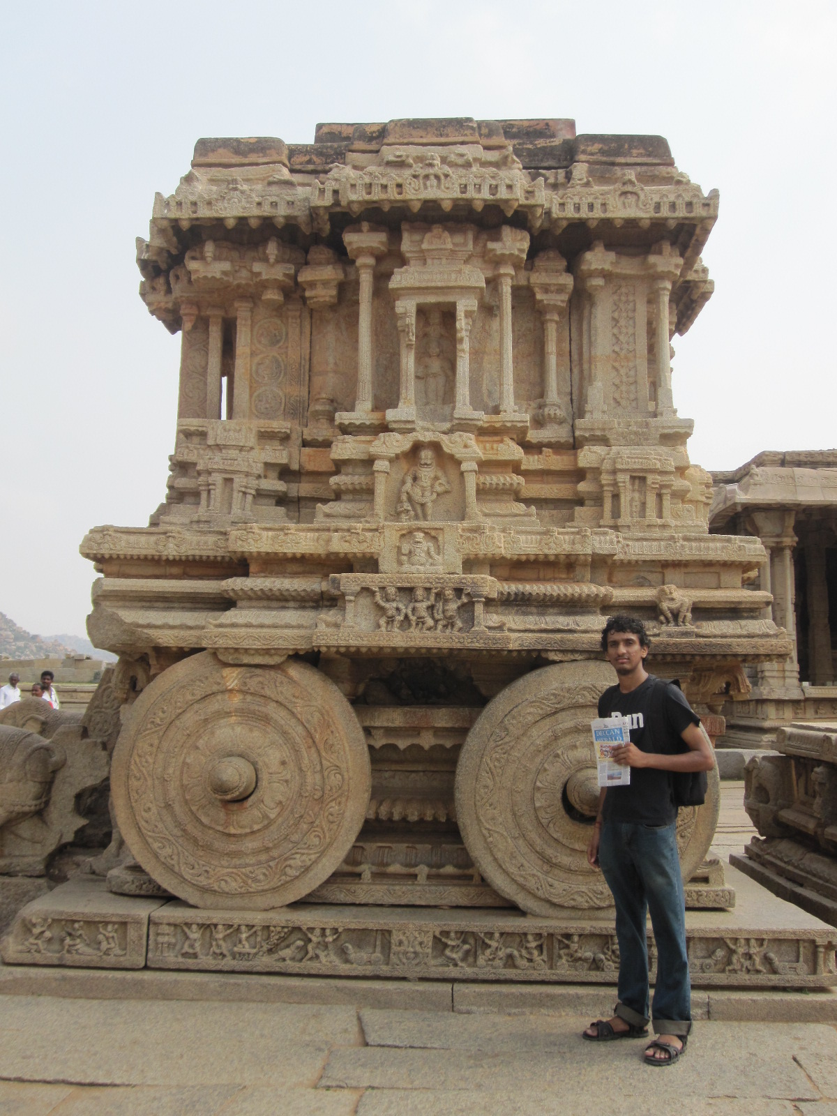 Stone Chariot. I've dreamt a lot of visiting this place! Challenge completed!
