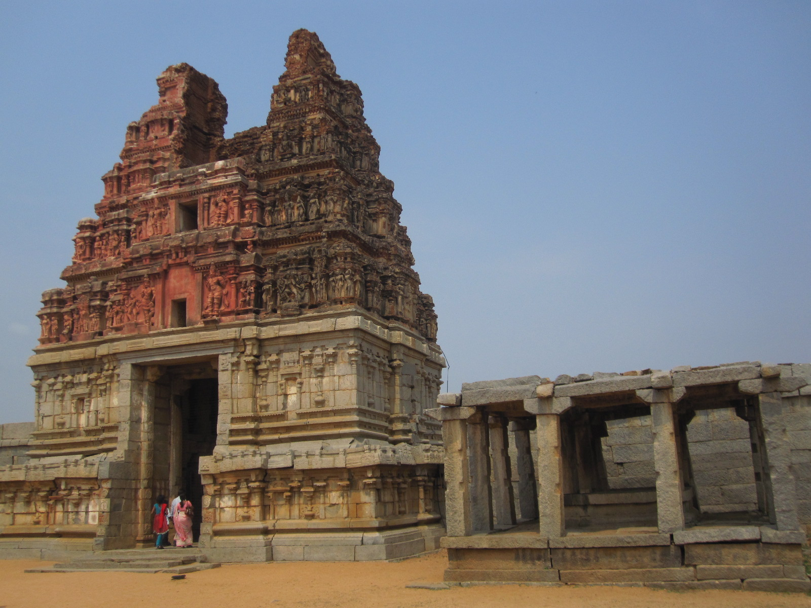 Vittala Temple. This is probably the most notable among the monuments, especially for its Stone Chariot.