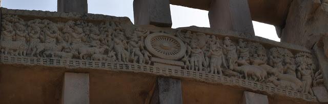Western Gateway - First sermon at Sarnath