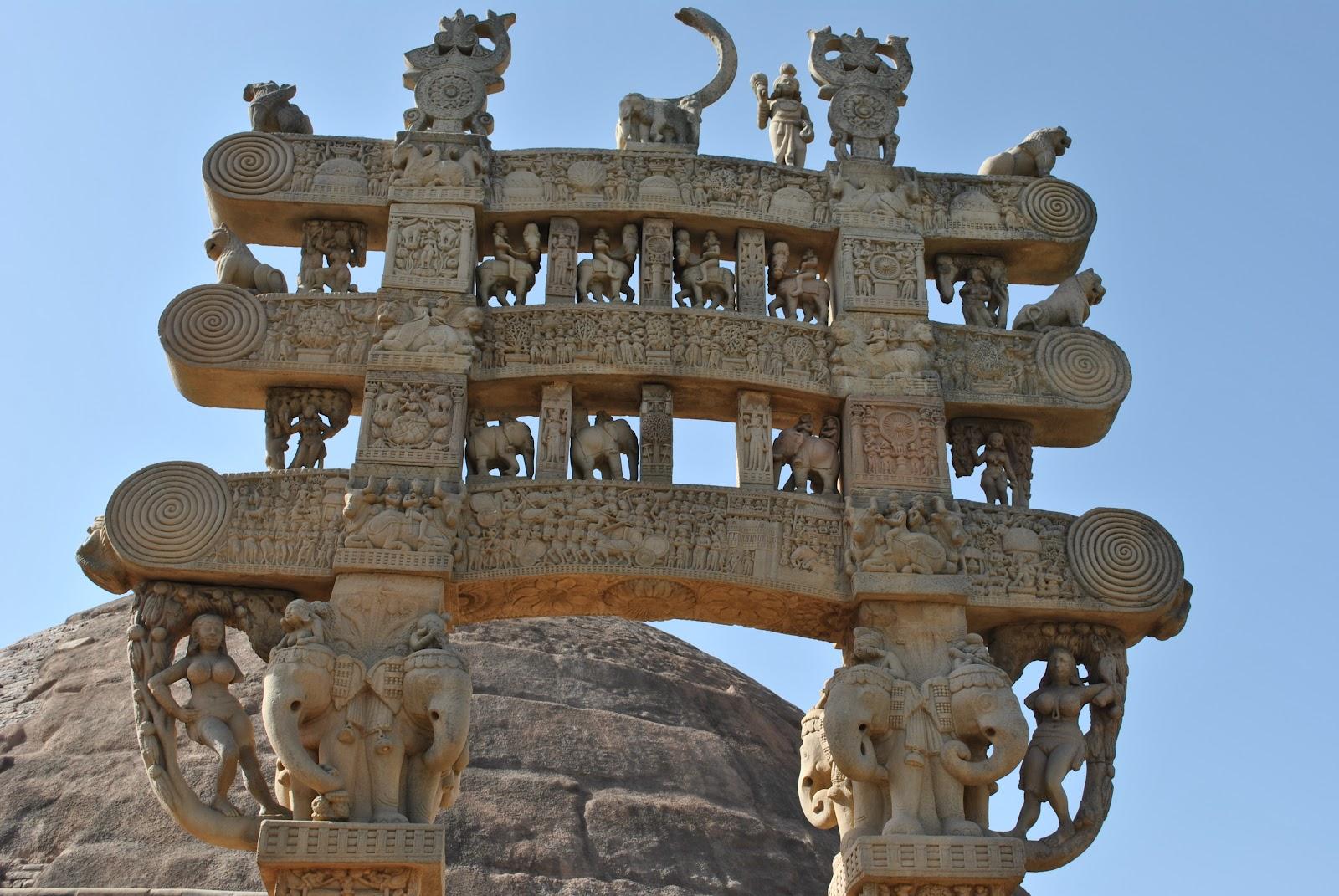Stupa 1 - Northern Gateway