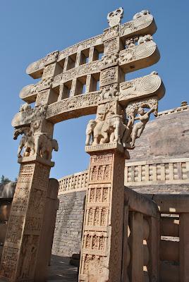 Stupa 1 - Eastern Toran