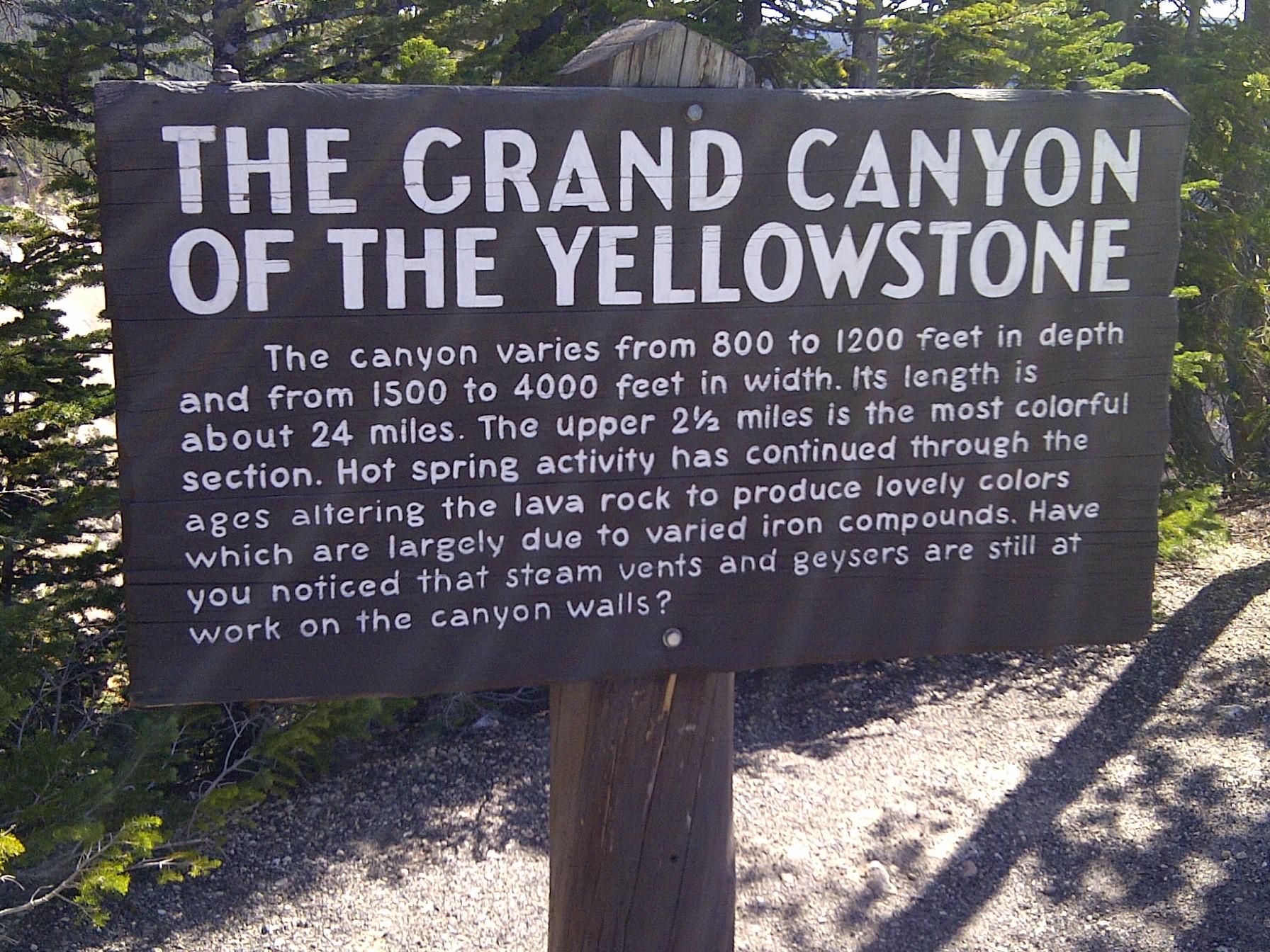 Ohh Yellowstone