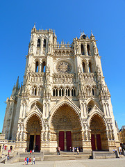 amiens The tallest complete cathedral in France
