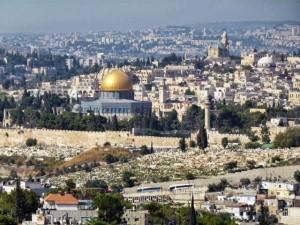 Jerusalem Dome of the Rock shrine