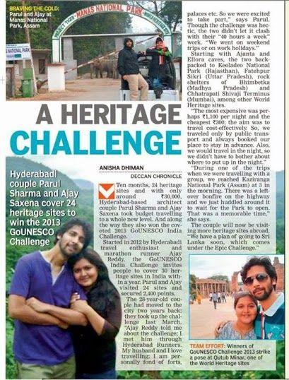 Deccan Chronicle Jan 2014