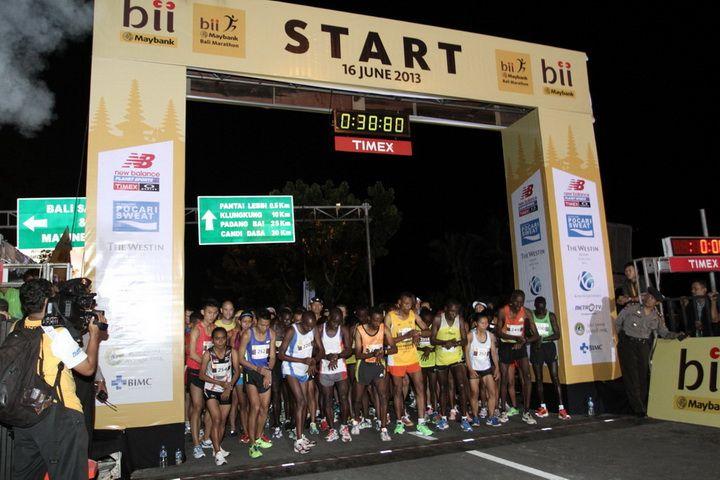 Bali Marathon 2013