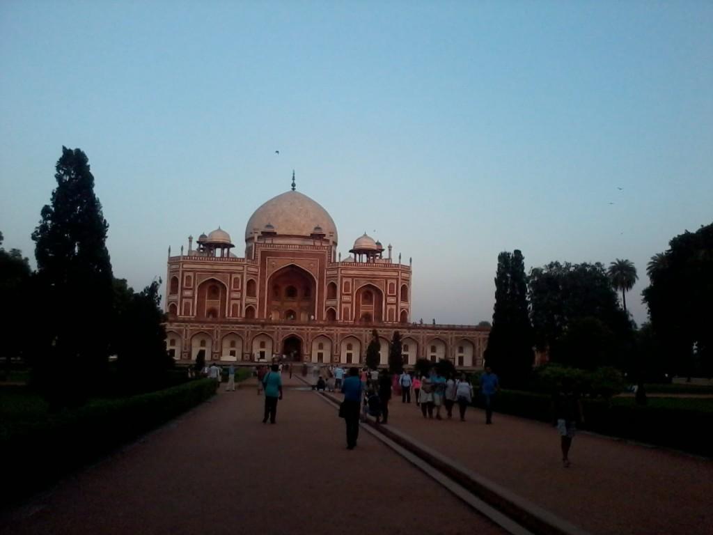humayuns tomb delhi winter