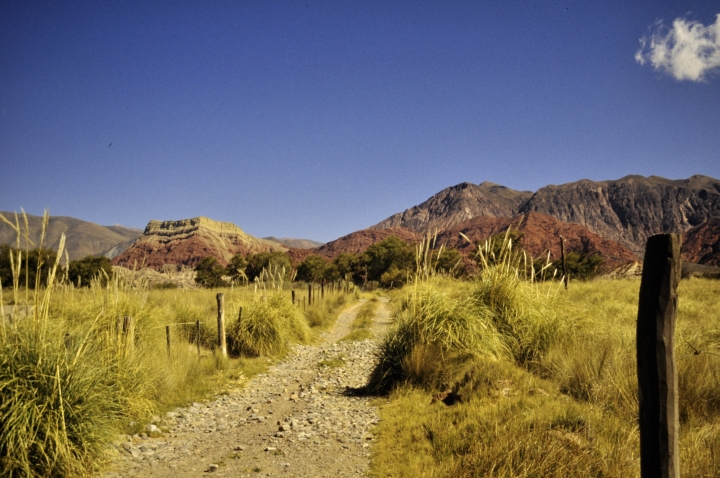 winter sun Quebrada de Humahuaca - Argentina