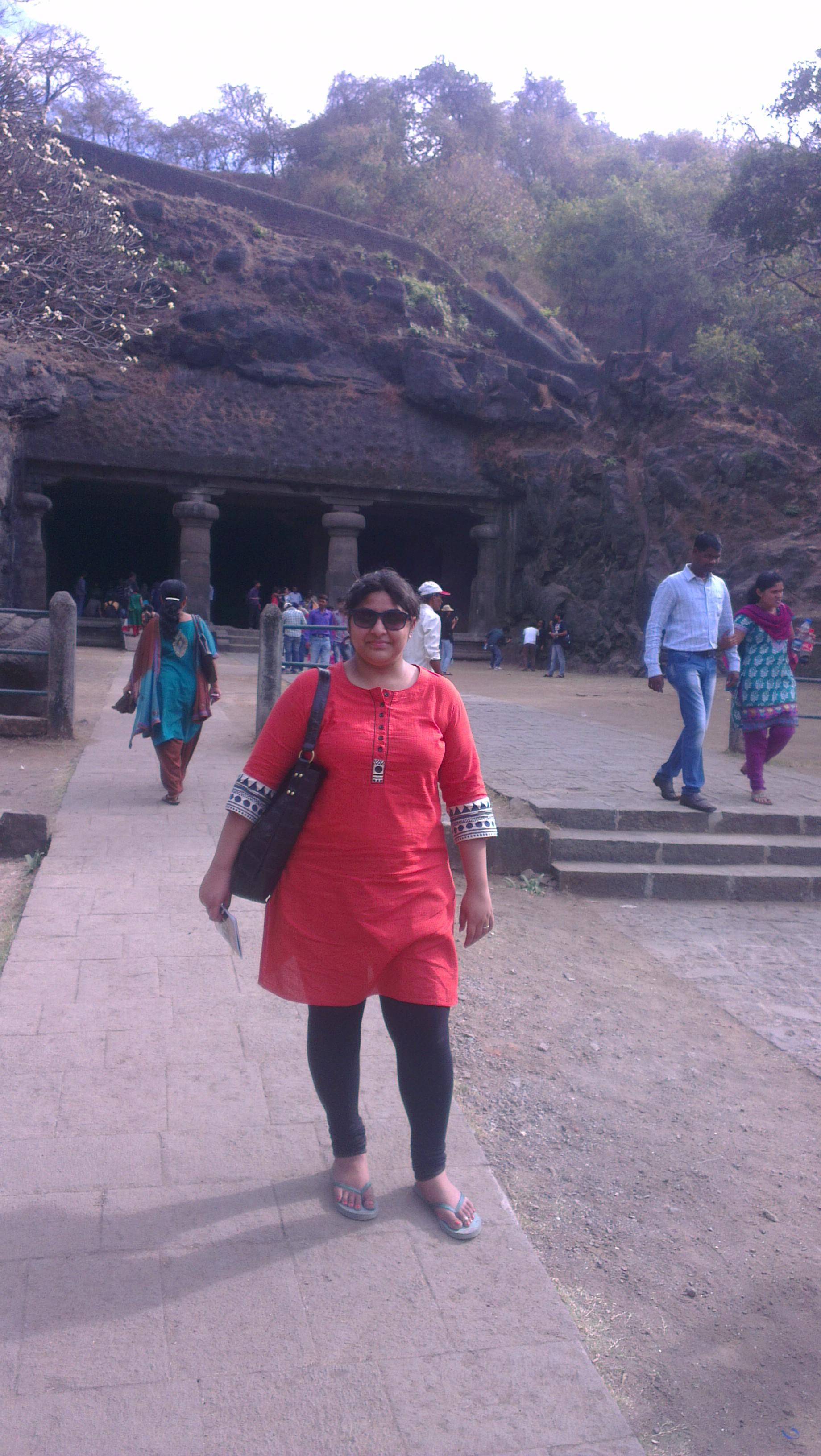 Elephanta caves Aditi