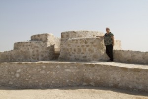 Al Zubarah On the tower of the Archaelogical Site