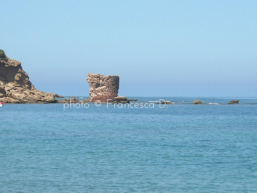 Porto Paglia, Gonnesa: the coastal Tower