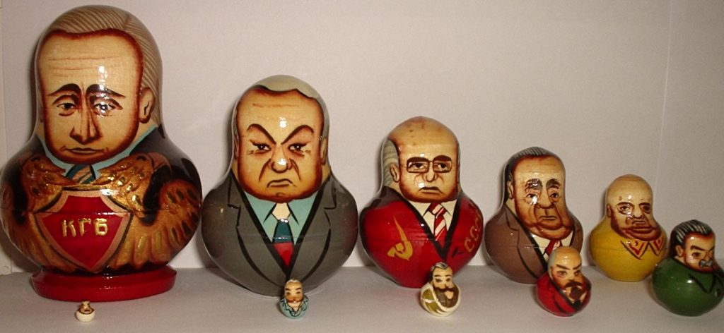 Matryoshka of Russian Politicians