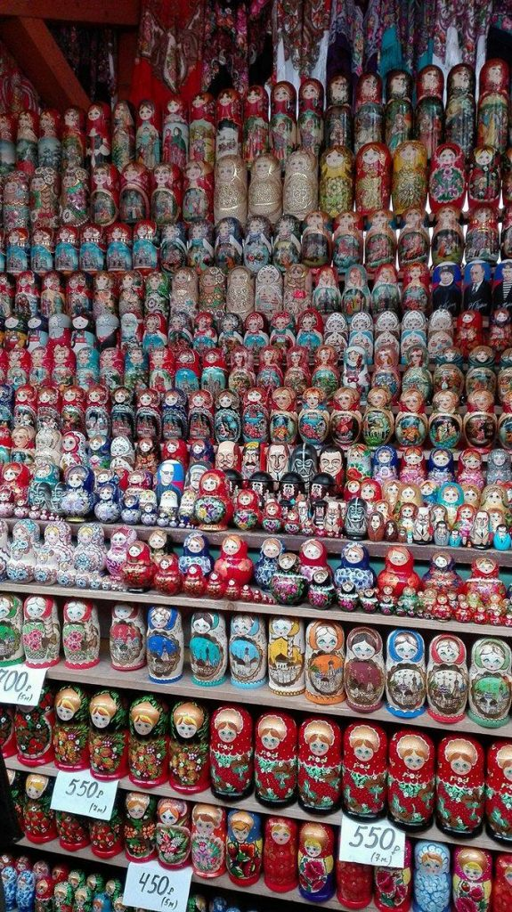 Matryoshka at Izmayloskaya market