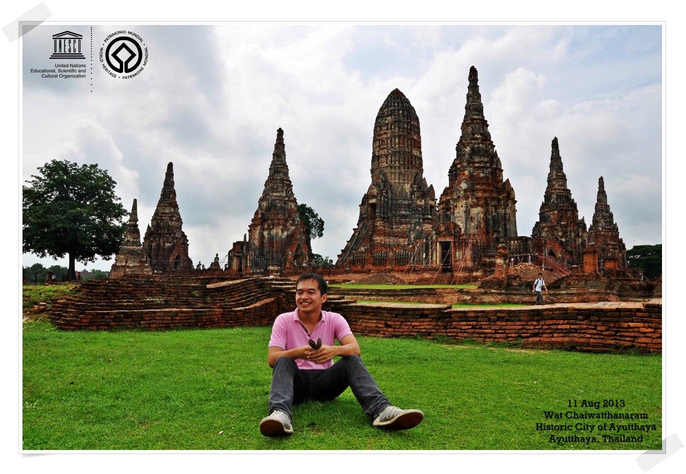 Historic City of Ayutthaya - Thailand By Thomas shaw