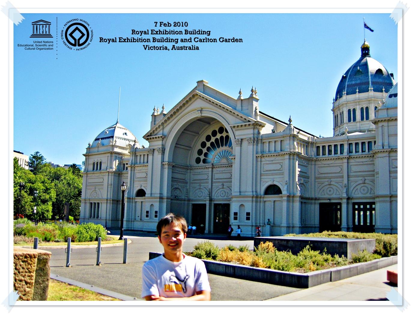 Royal Exhibition Building and Carlton Gardens - Australia By Thomas shaw