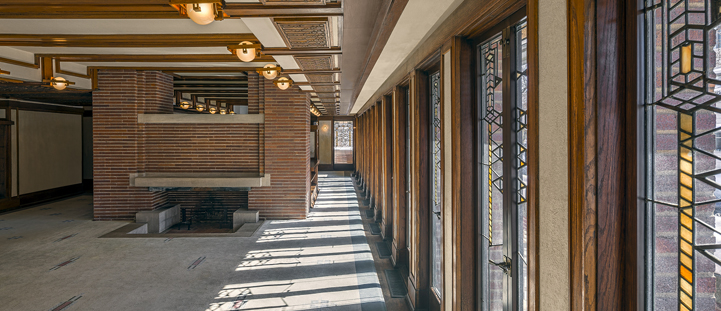 Robie House - Interior Source: www.flwright.org