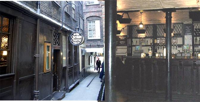 Ye Olde Cheshire Cheese (45 Fleet Street, London, EC4A 2BU)