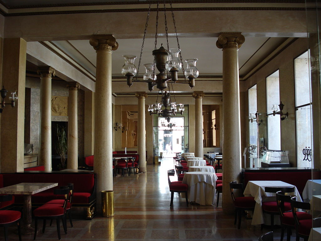 The Red Room, Pedrocchi Café, Padua, Italy