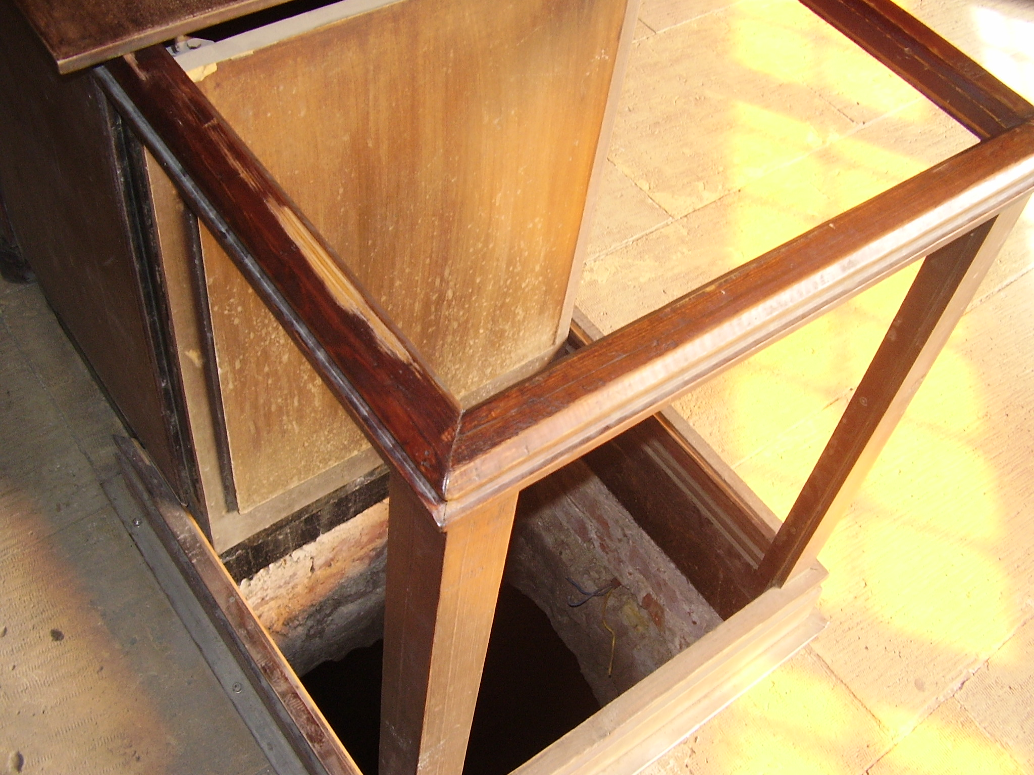 the cistern of the well