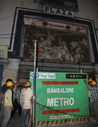Refurbished to Bangalore Metro Station